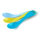 """Light My Fire Spork Little 3-Pack Cyan/Lime/Passionblue"""